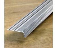 Профиль лестничный алюминиевый Quick Step (Квик Степ) 9,5мм (65*18*2150мм)