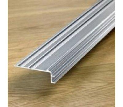 Профиль лестничный алюминиевый Quick Step (Квик Степ) 8мм (65*18*2150мм)