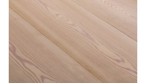 LARCH Wide-Plank white oil  lye treated